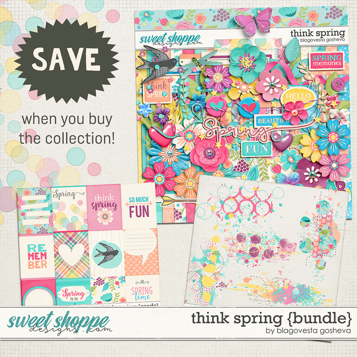 Think Spring {bundle}  by Blagovesta Gosheva
