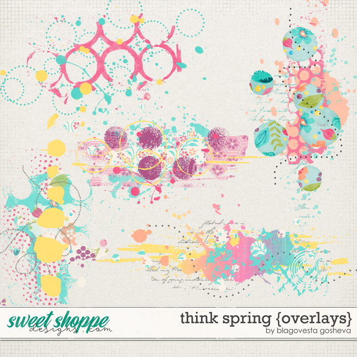Think Spring {overlays} by Blagovesta Gosheva