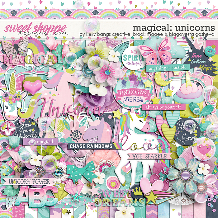 Magical: Unicorns by Kelly Bangs Creative, Brook Magee & Blagovesta Gosheva