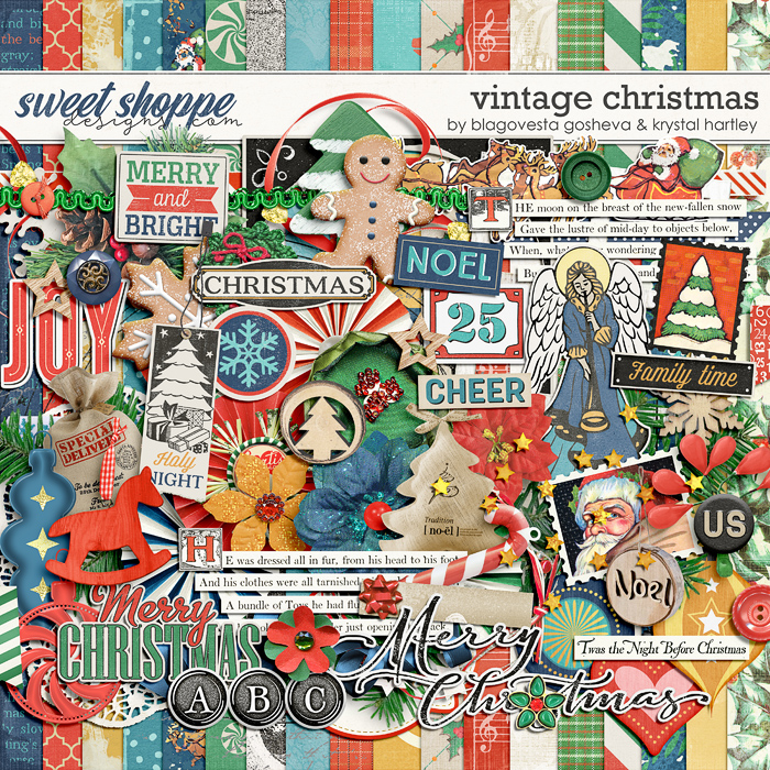 Vintage Christmas by Blagovesta Gosheva and Krystal Hartley