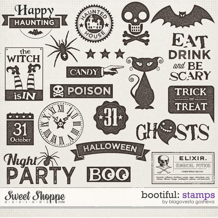 BOOtiful {Stamps} by Blagovesta Gosheva