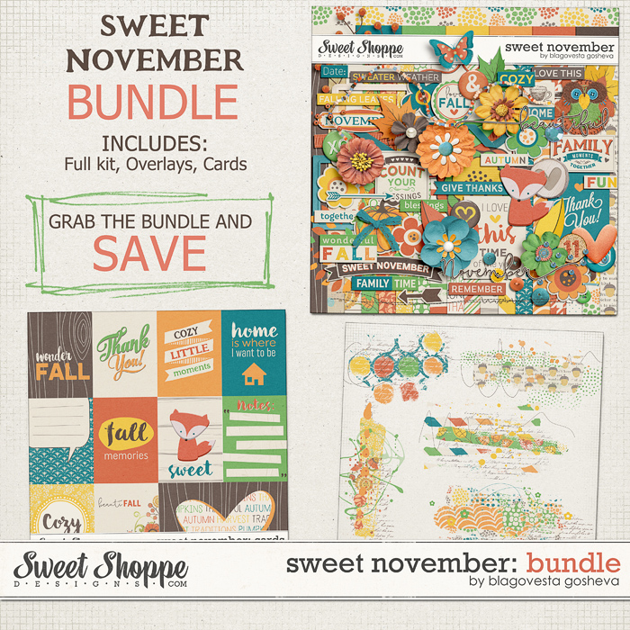 Sweet November: Bundle by Blagovesta Gosheva