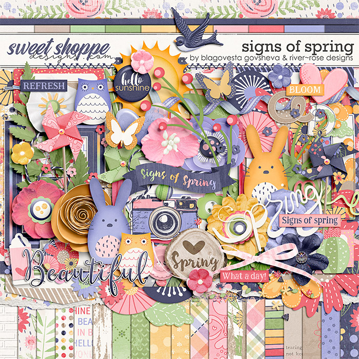 Signs of Spring by Blagovesta Gosheva & River Rose Designs