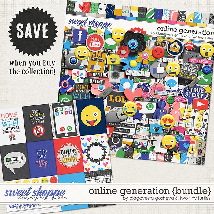 Online Generation {bundle} by Blagovesta Gosheva & Two Tiny Turtles