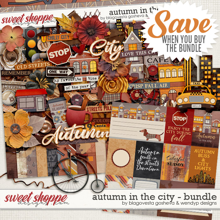 Autumn in the city {bundle} by Blagovesta Gosheva & WendyP Designs