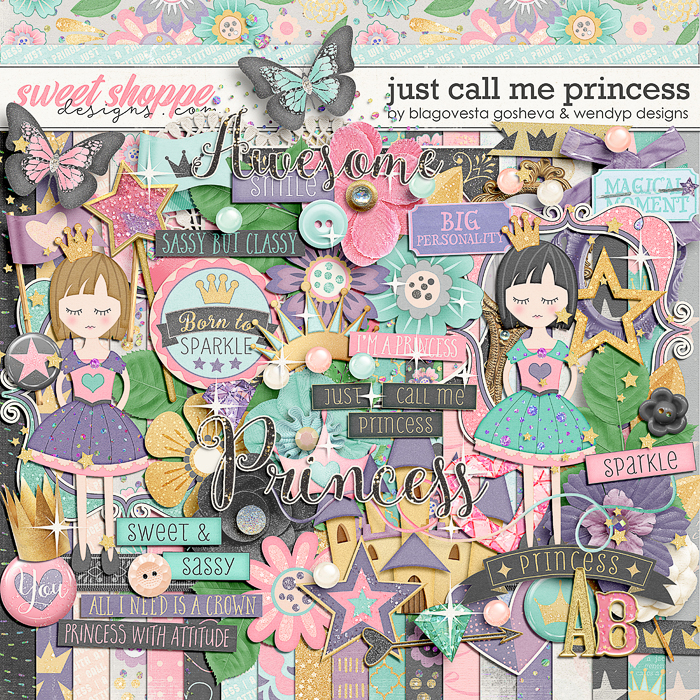 Just call me princess by Blagovesta Gosheva & Wendyp Designs