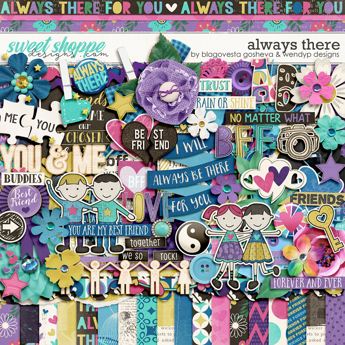 Always There by Blagovesta Gosheva & WendyP Designs