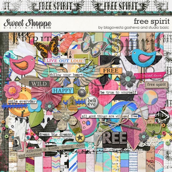 Free Spirit: Kit by Blagovesta Gosheva and Studio Basic