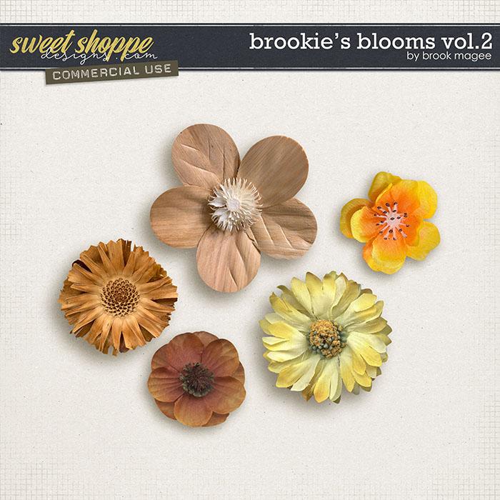 Brookie's Blooms Vol.2 - CU - by Brook Magee