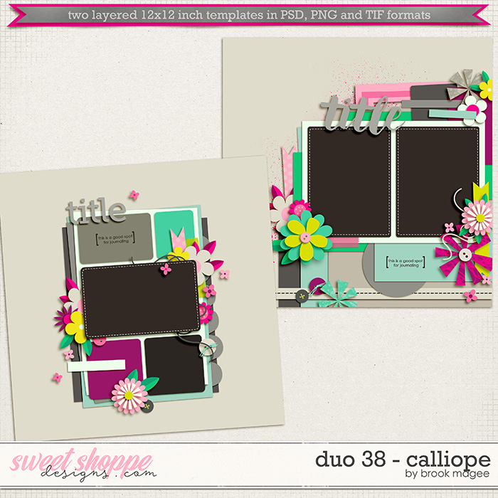 Brook's Templates - Duo 38 - Calliope by Brook Magee