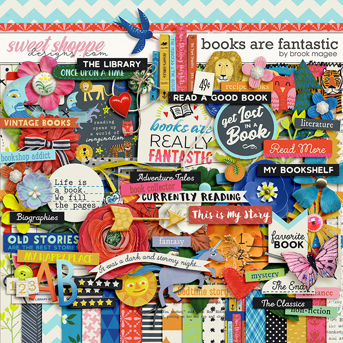 Books are Fantastic by Brook Magee