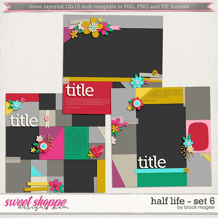 Brook's Templates - Half Life - Set 6 by Brook Magee