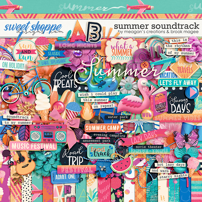 Summer Soundtrack by Brook Magee & Meagan's Creations