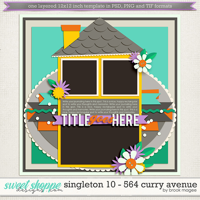 Brook's Templates - Singleton 10 - 564 Curry Avenue