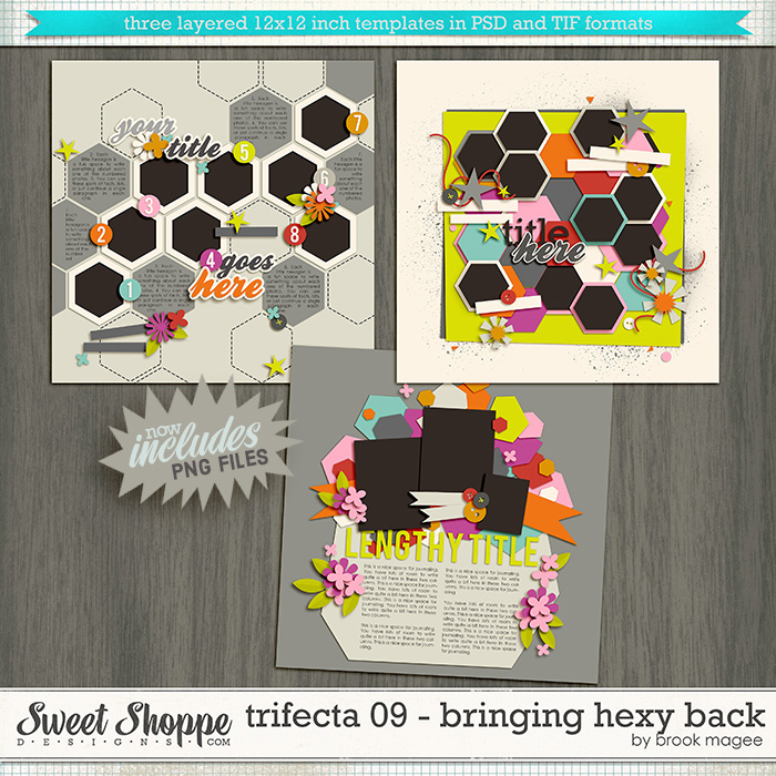 Brook's Templates - Trifecta 09 - Bringing Hexy Back by Brook Magee