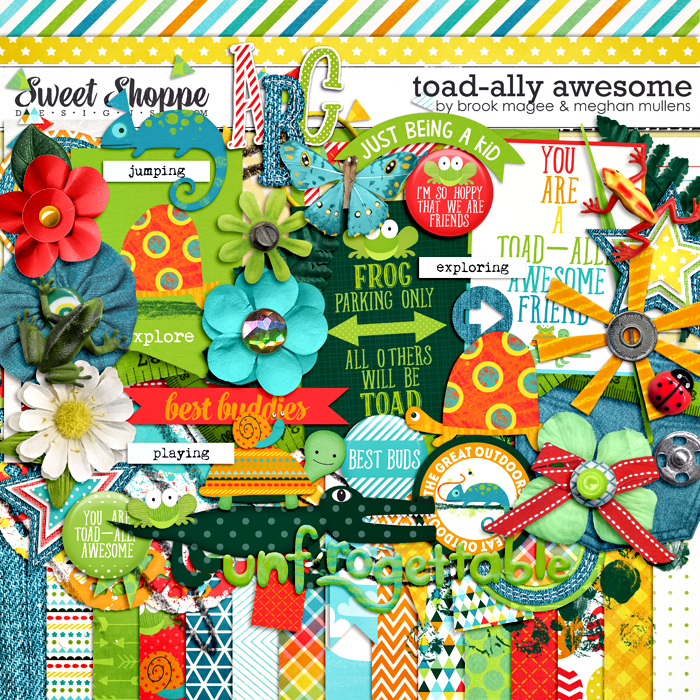 Toad-ally Awesome by Brook Magee and Meghan Mullens