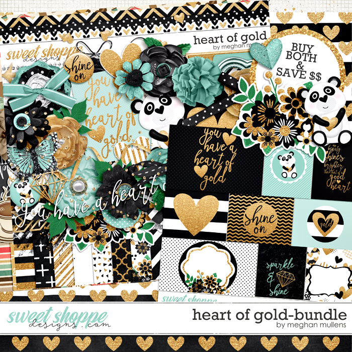 Heart Of Gold-Bundle by Meghan Mullens