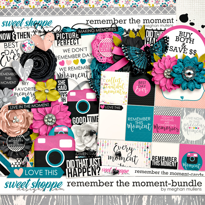 Remember The Moment-Bundle by Meghan Mullens