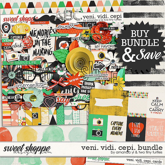 Veni.Vidi.Cepi Bundle by Amanda Yi & Two Tiny Turtles