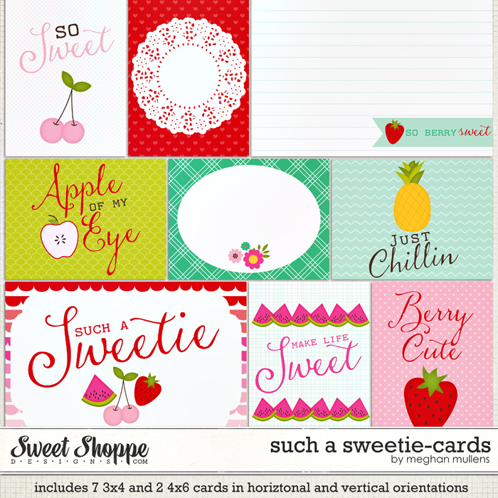 Such A Sweetie-Proect Cards by Meghan Mullens