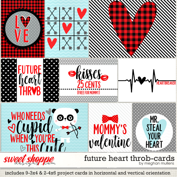 Future Heart Throb-Cards by Meghan Mullens