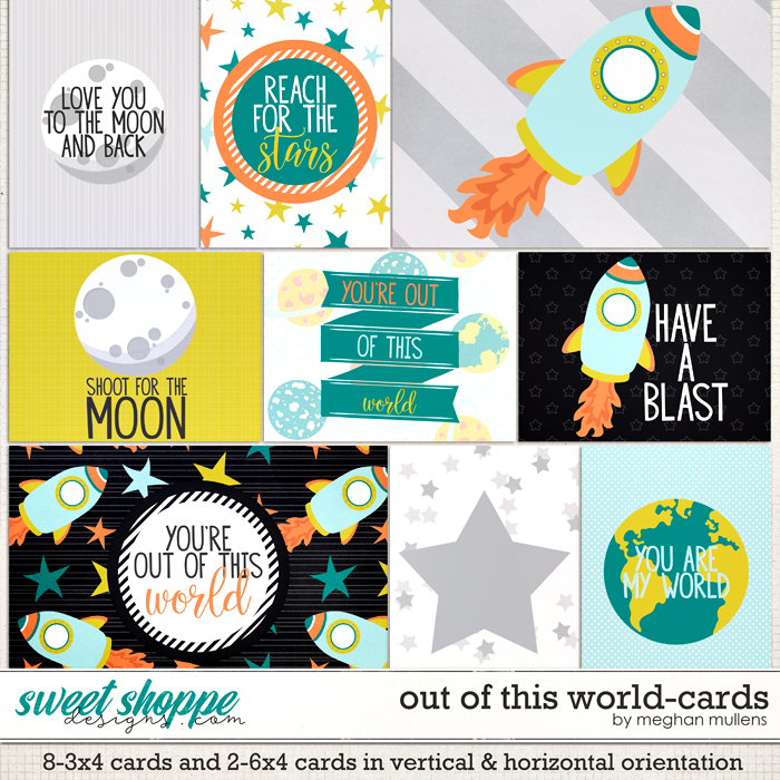 Out Of This World-Cards by Meghan Mullens