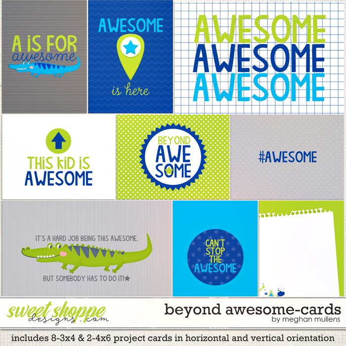 Beyond Awesome-Card Pack by Meghan Mullens