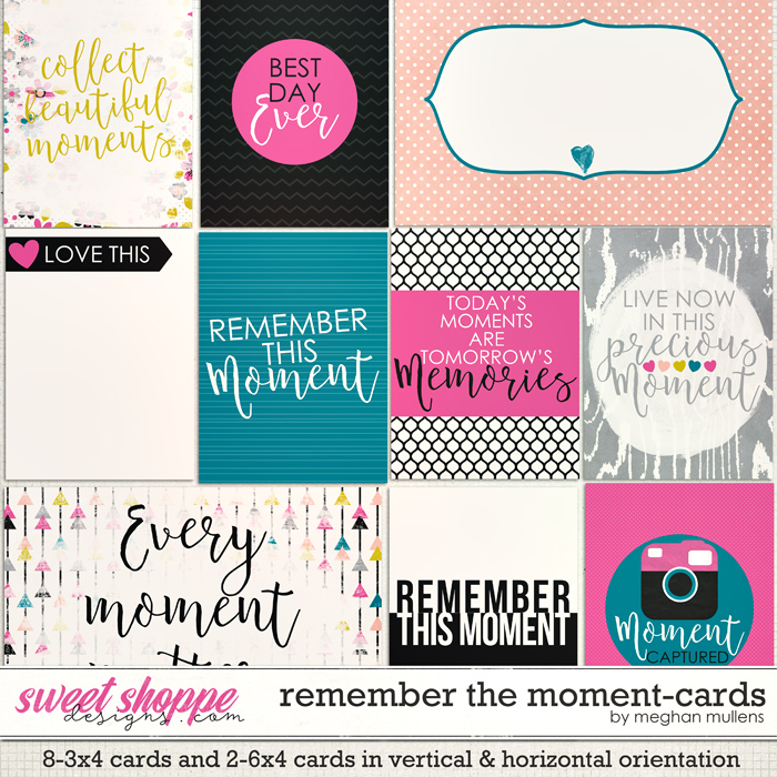 Remember The Moment-Card Pack by Meghan Mullens