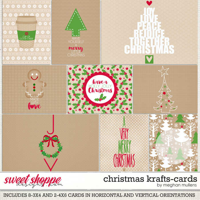 Christmas Krafts-Card Pack by Meghan Mullens