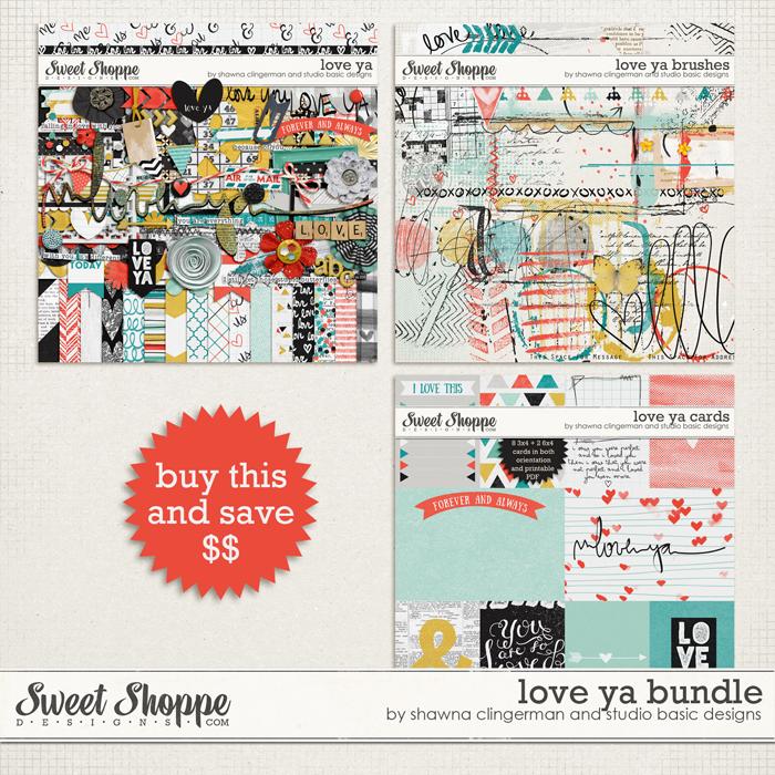 Love Ya Bundle by Shawna Clingerman and Studio Basic Designs
