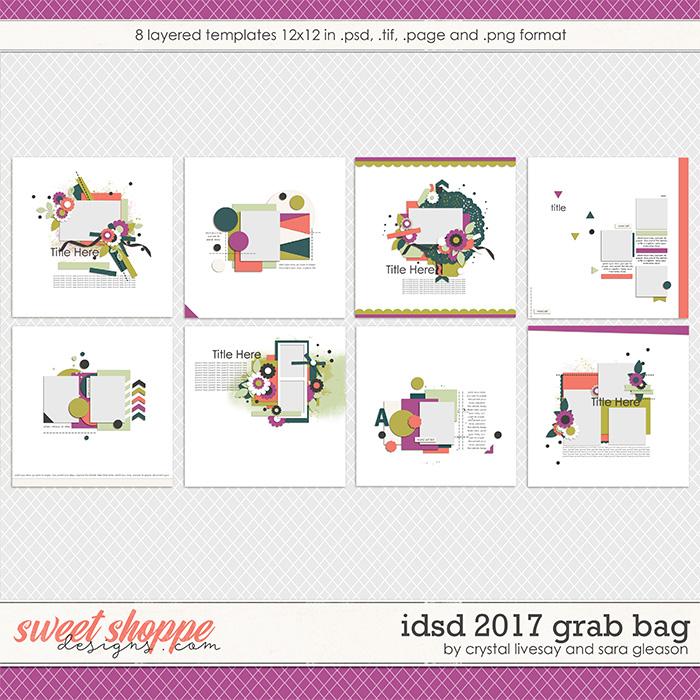 iDSD 2017 Template Grab Bag by Crystal Livesay and Sara Gleason
