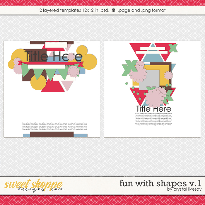Fun With Shapes V.1 by Crystal Livesay