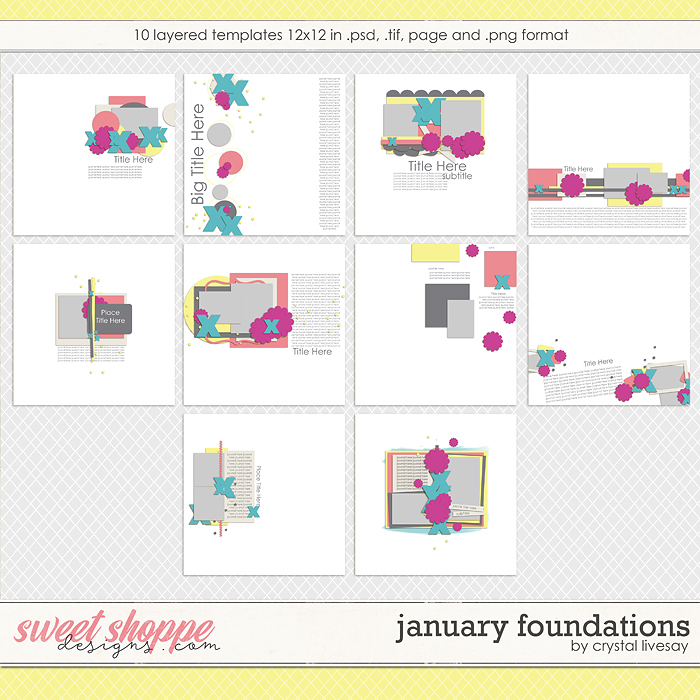 January Foundations by Crystal Livesay