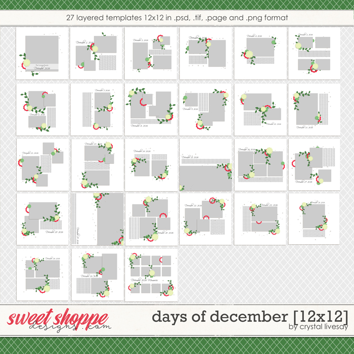 Days of December [12x12] by Crystal Livesay