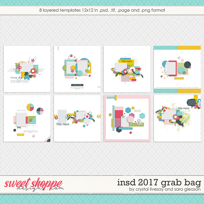 iNSD Template Grab Bag by Crystal Livesay and Sara Gleason