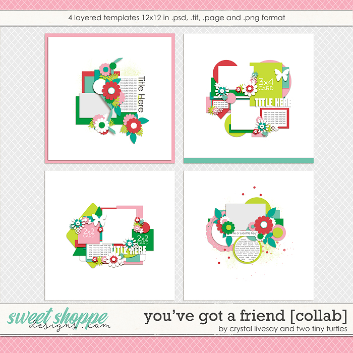 You´ve Got A Friend by Crystal Livesay & Two Tiny Turtles