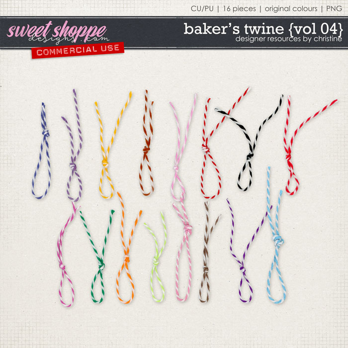 Baker's Twine {Vol 04} by Christine Mortimer