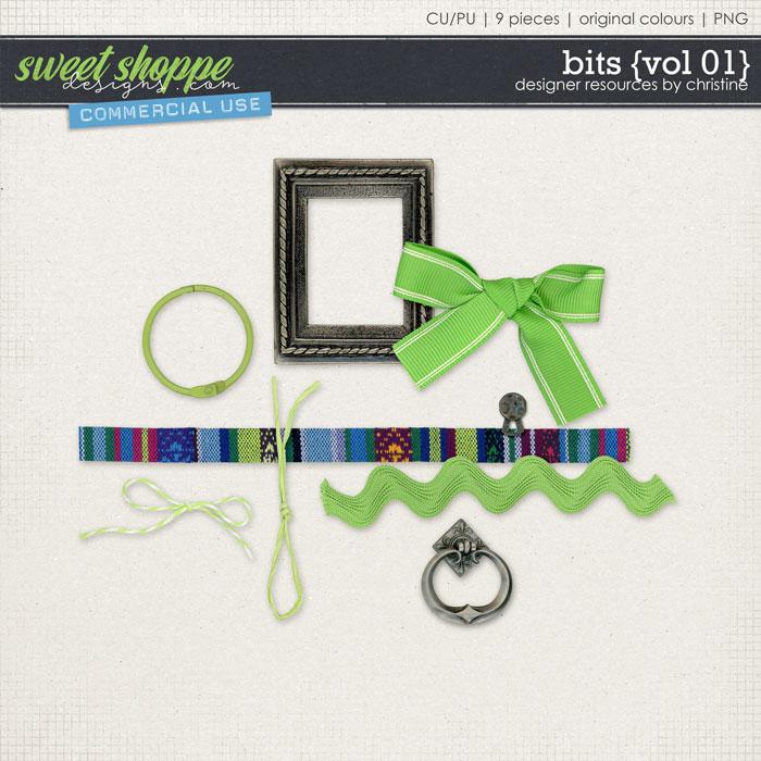 Bits {Vol 01} by Christine Mortimer