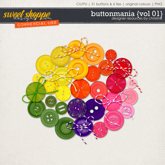 Buttonmania {Vol 01} by Christine Mortimer
