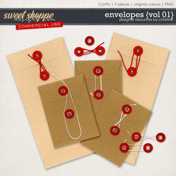 Envelopes {Vol 01} by Christine Mortimer