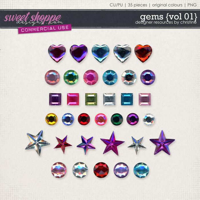 Gems {Vol 01} by Christine Mortimer