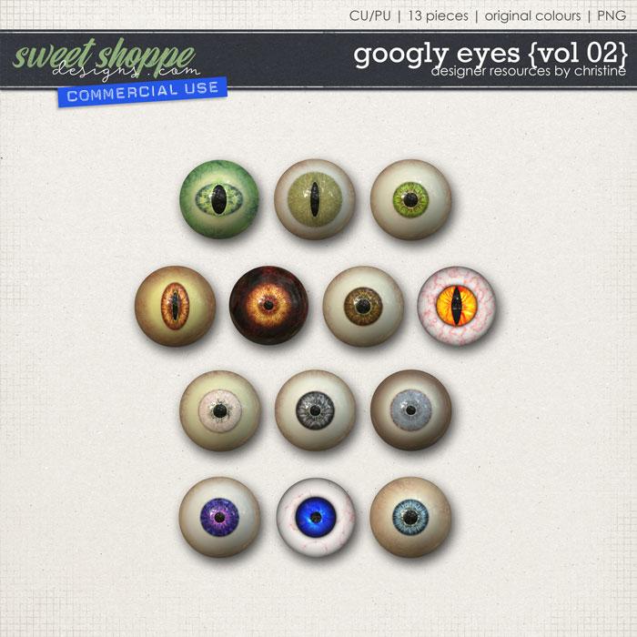 Googly Eyes {Vol 02} by Christine Mortimer
