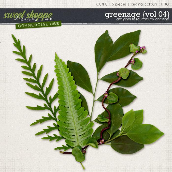 Greenage {Vol 04} by Christine Mortimer