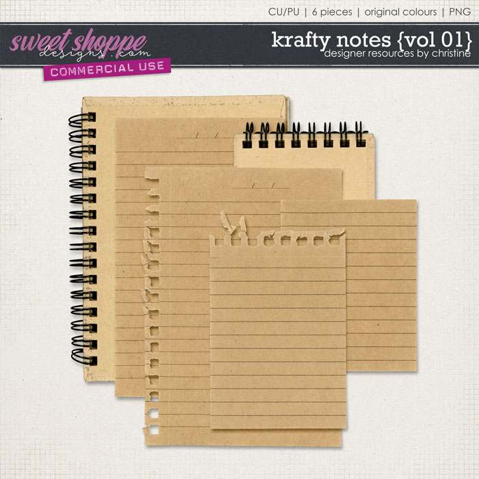 Krafty Notes {Vol 01} by Christine Mortimer