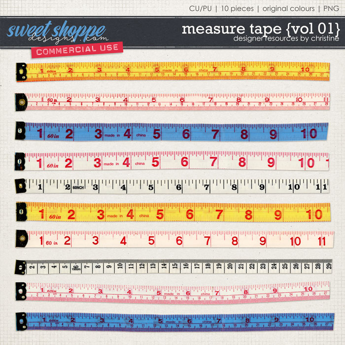 Measure Tapes {Vol 01} by Christine Mortimer