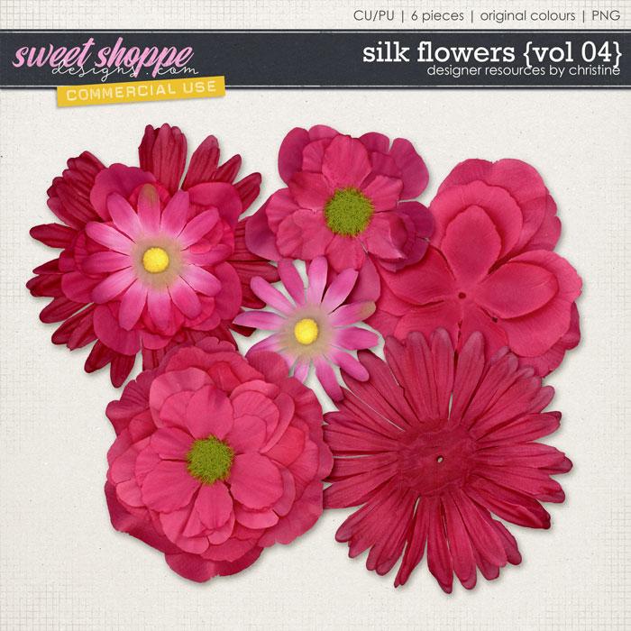 Silk Flowers {Vol 04} by Christine Mortimer