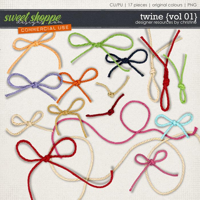 Twine {Vol 01} by Christine Mortimer