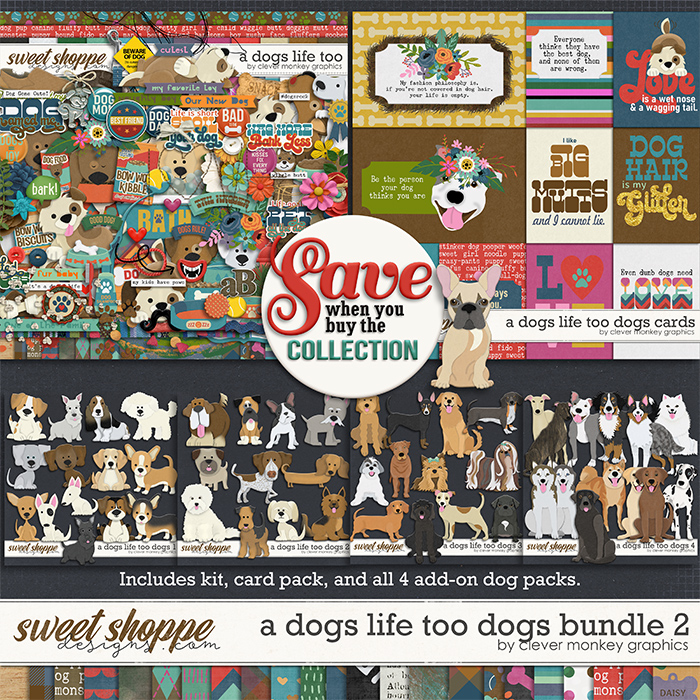 A Dog's Life Too Bundle 2 by Clever Monkey Graphics