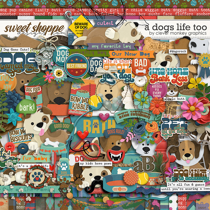 A Dog's Life Too by Clever Monkey Graphics