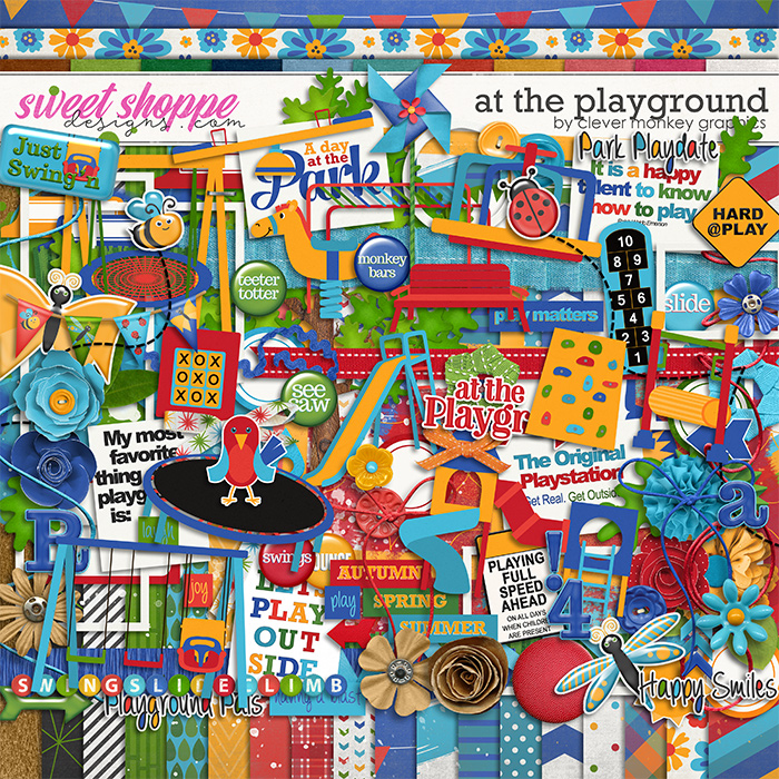 At the Playground by Clever Monkey Graphics